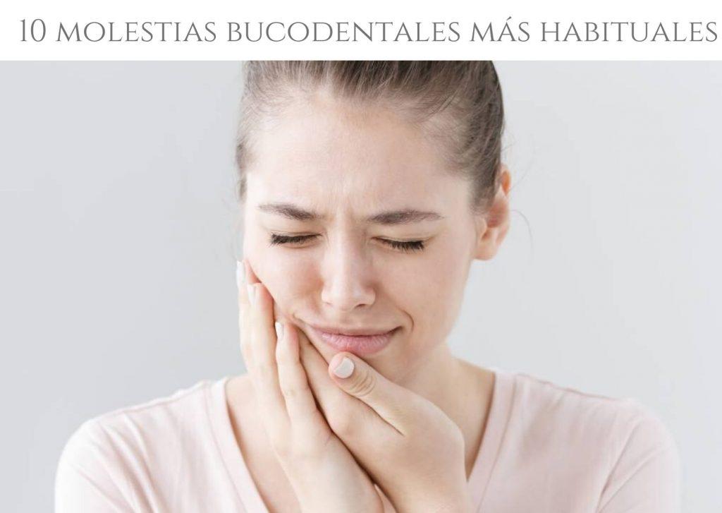 Molestias dentales habituales